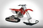 зимний мотоцикл